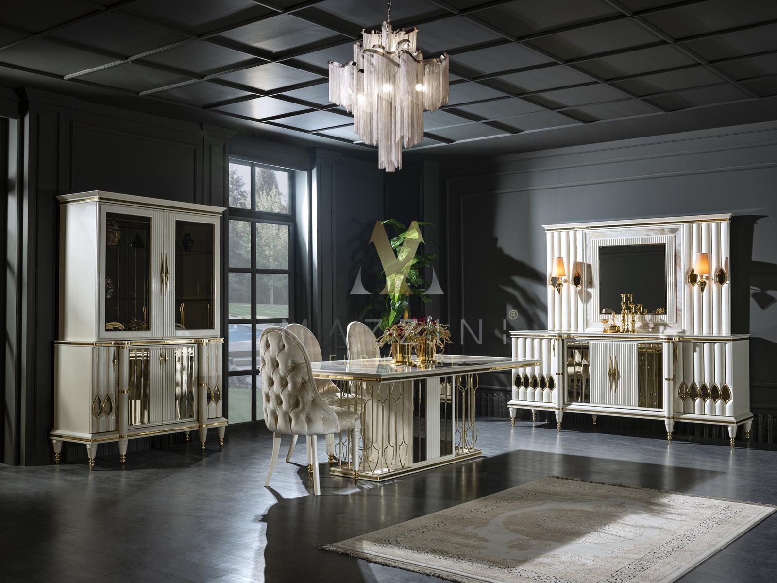 CAPRICE WOONKAMER italiaanse hoogglans woonkamer meubel Actie - Modern ...