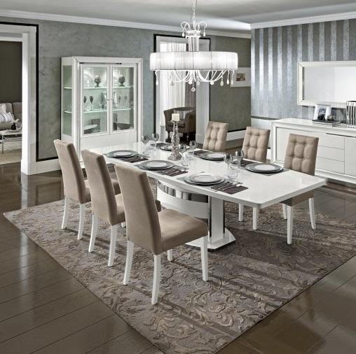 58 dama bianca hoogglans wit modern italiaans woonkamer meubels ...