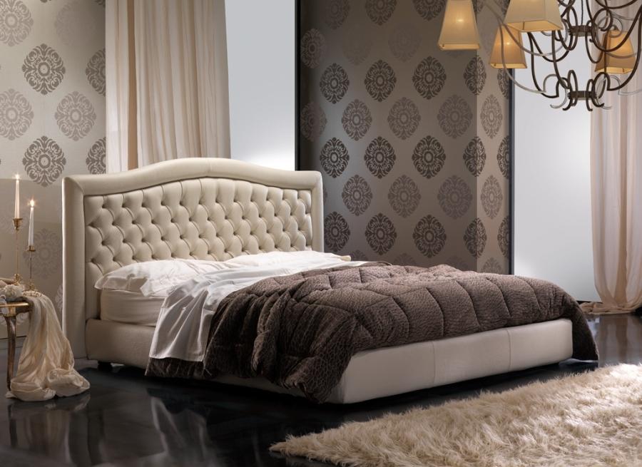 Eva bed boxsprings bedden woiss meubels - Cabezales de cama tapizados ...