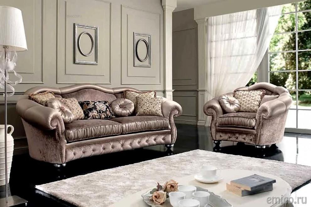 Greta bankstel klassieke romantische stoffen hoekbanken bankstellen neoklassieke bankstellen - Klassieke chique meubels ...